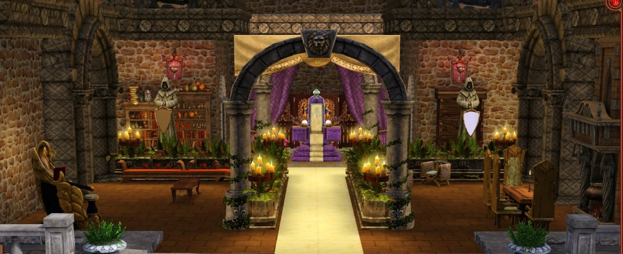 Ancient greek chair - Medieval Castle Throne Room Mod The Sims Throne Room Experimental