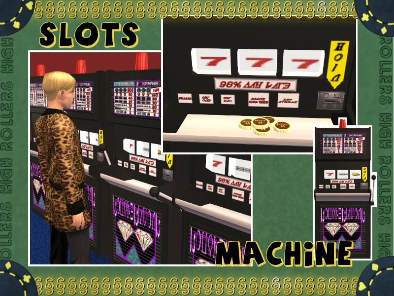 Sims Slots Machines