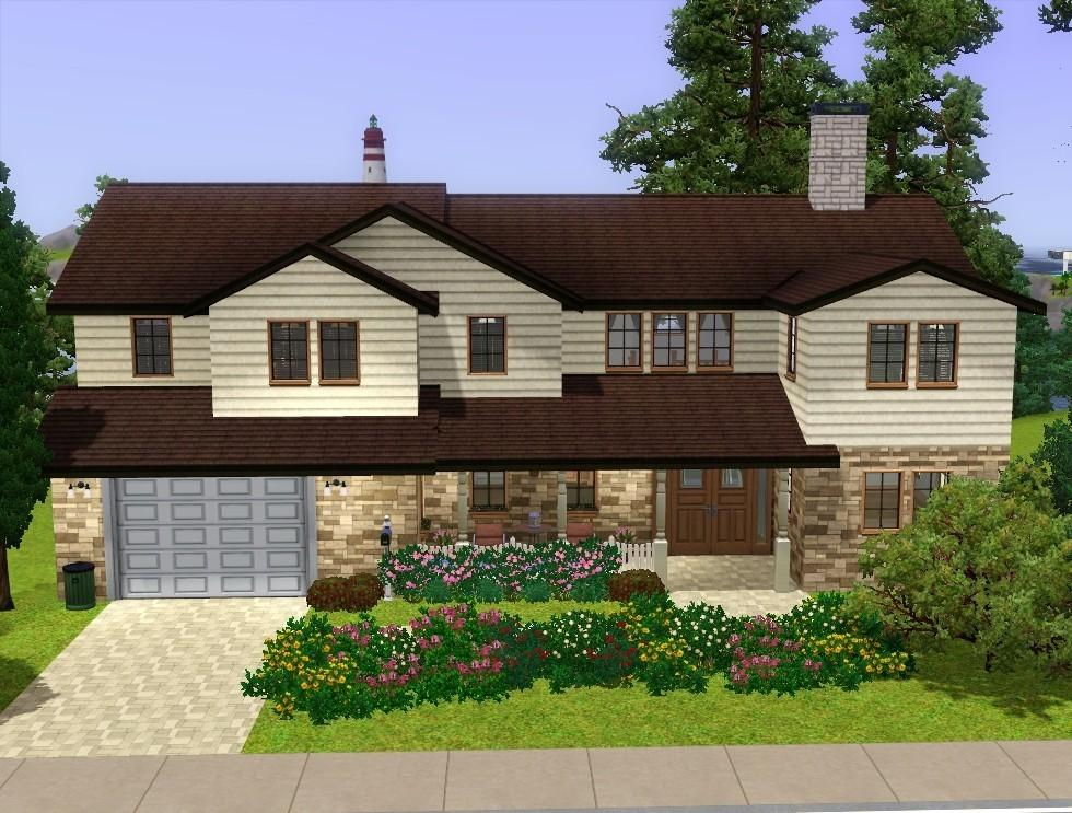 Mod the sims cozy suburban home for Cozy homes