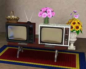 Mod The Sims Two Retro Tv From Soviet Union