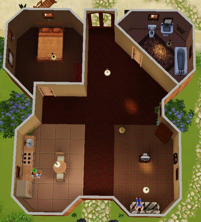 Mod The Sims Tiki Villa An Amazing Starter Home