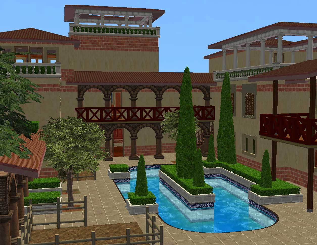 Mod The Sims - Ancient World: Rome - Insula