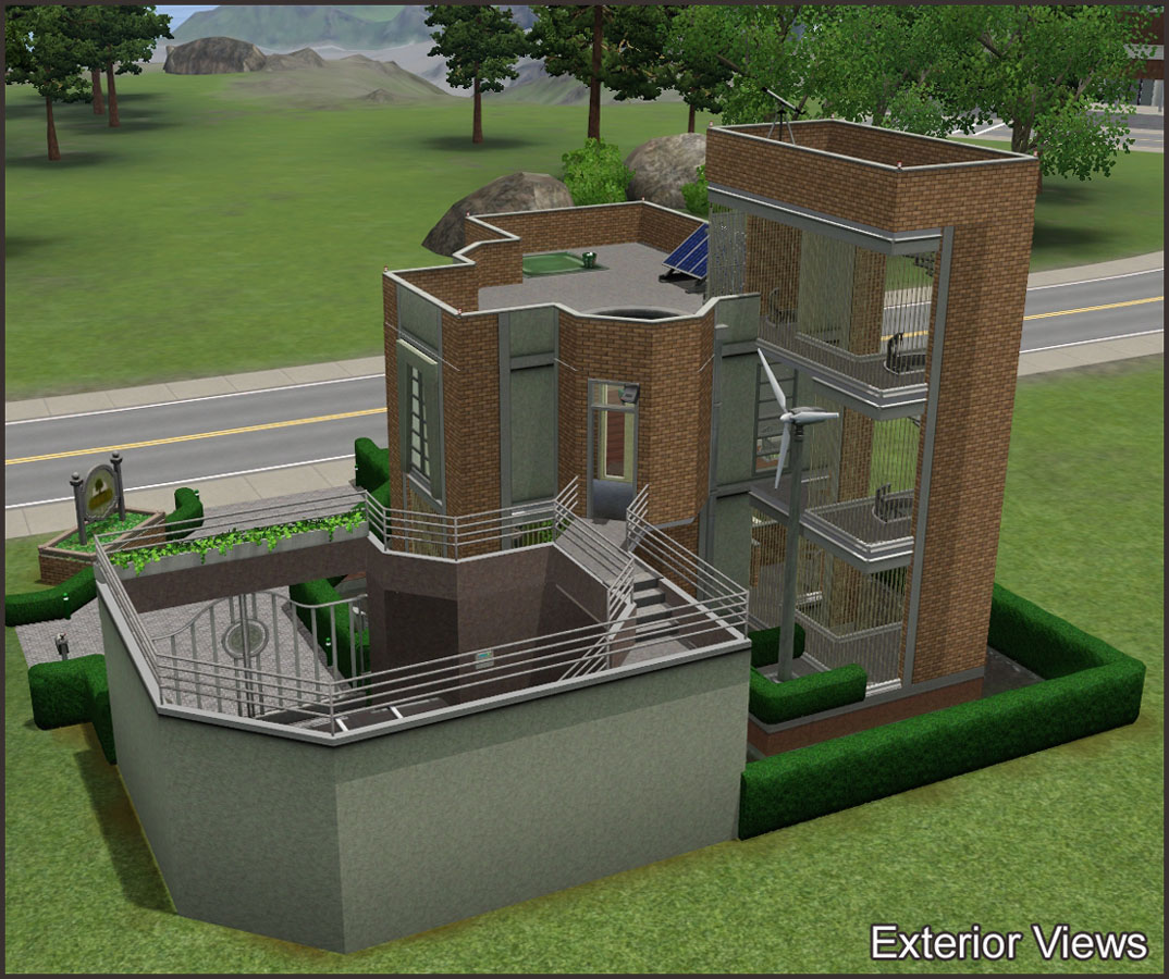 Mod The Sims Pre Apocalypse House