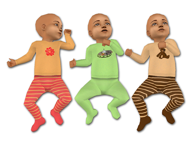 Mod Sims Maxis Match Baby Outfits