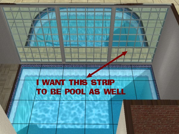 Mod the sims indoor outdoor pool for Pool design sims 3