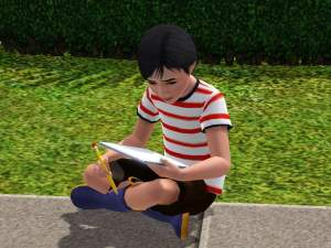 how to get children to do homework sims 4