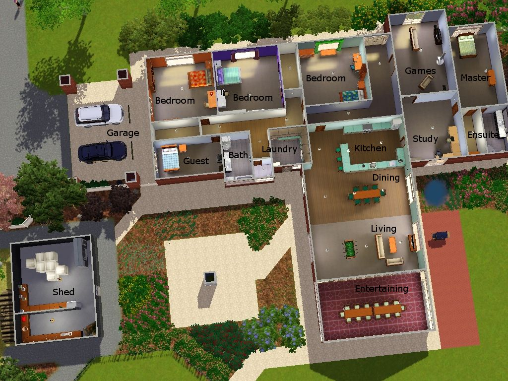 Mod The Sims My Real Life House In Sims 3