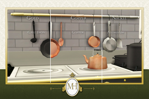 Mod The Sims Manor House Collection Gourmet Kitchen Pt Ii