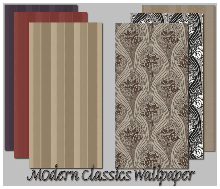 wallpaper modern. Modern Classics Wallpaper