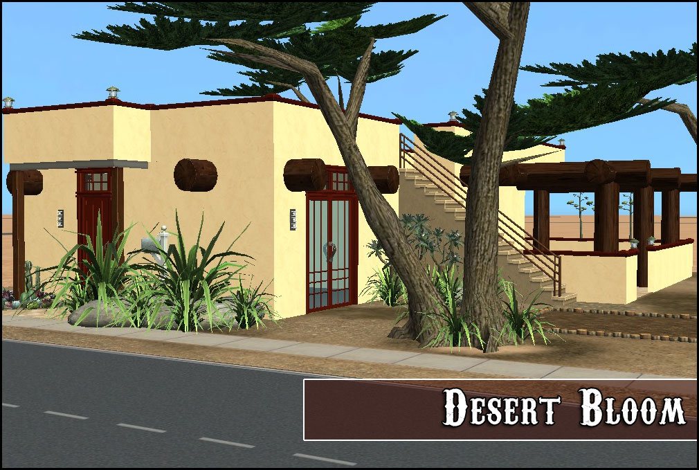 Mod the sims desert bloom for Santa fe style manufactured homes