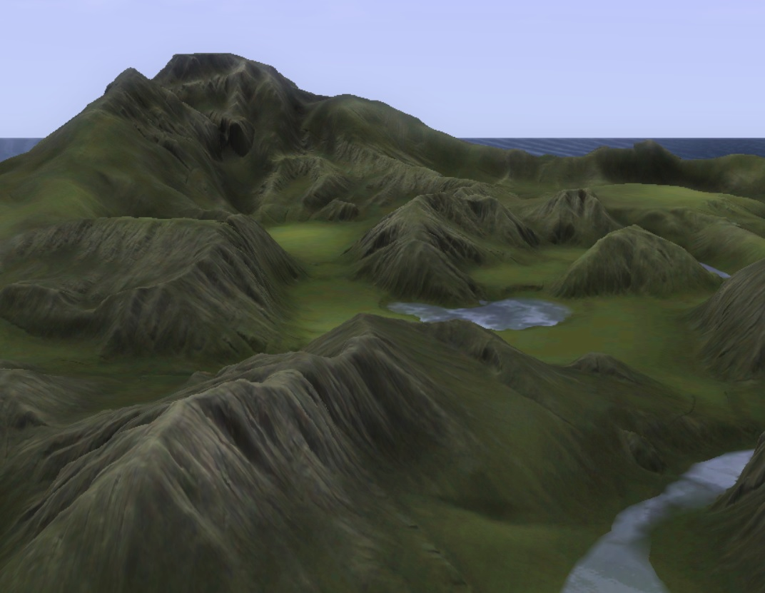 Mod The Sims - World machine plus Photoshop equal nice results