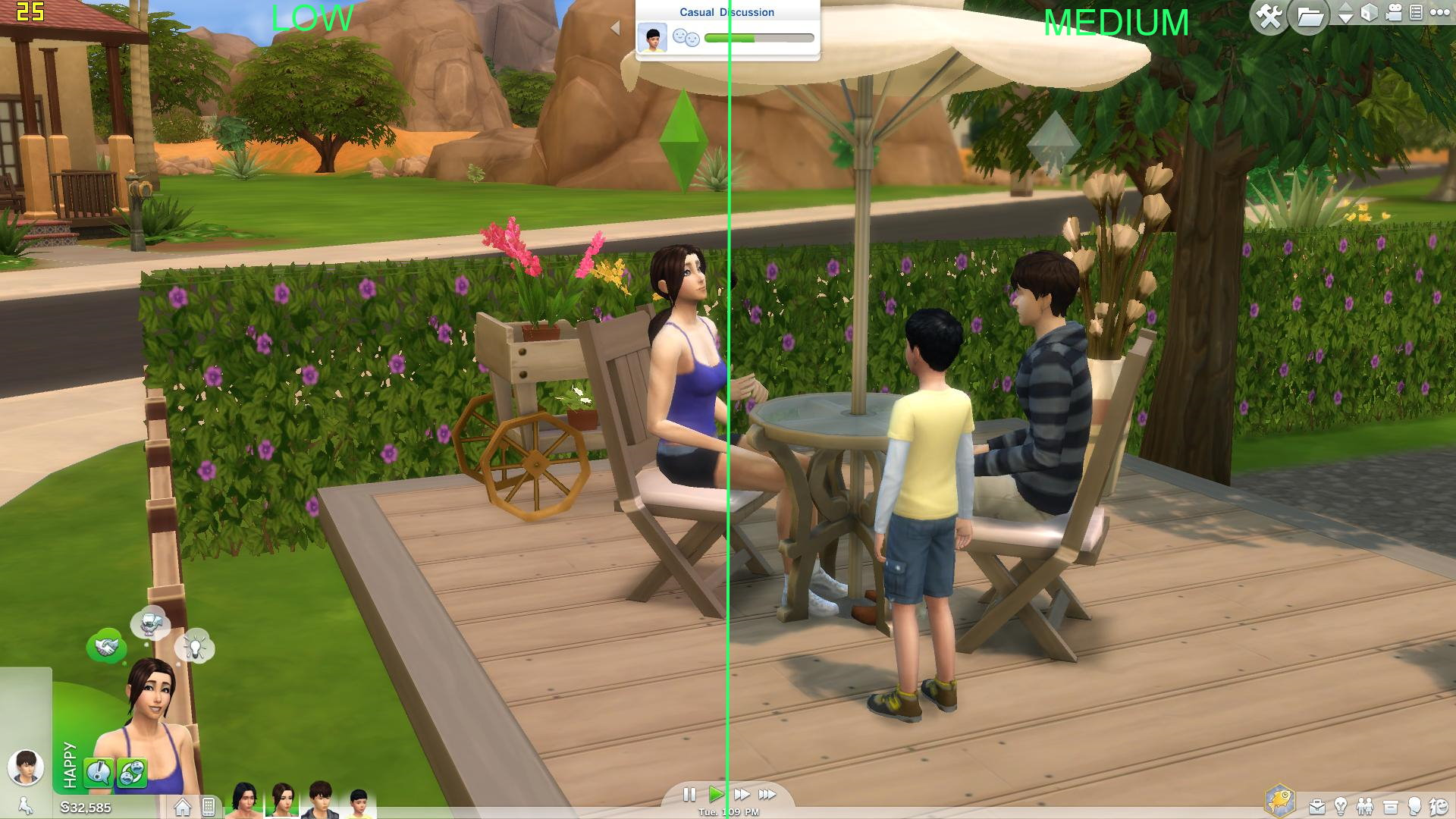 mod the sims ts4 graphics setting details