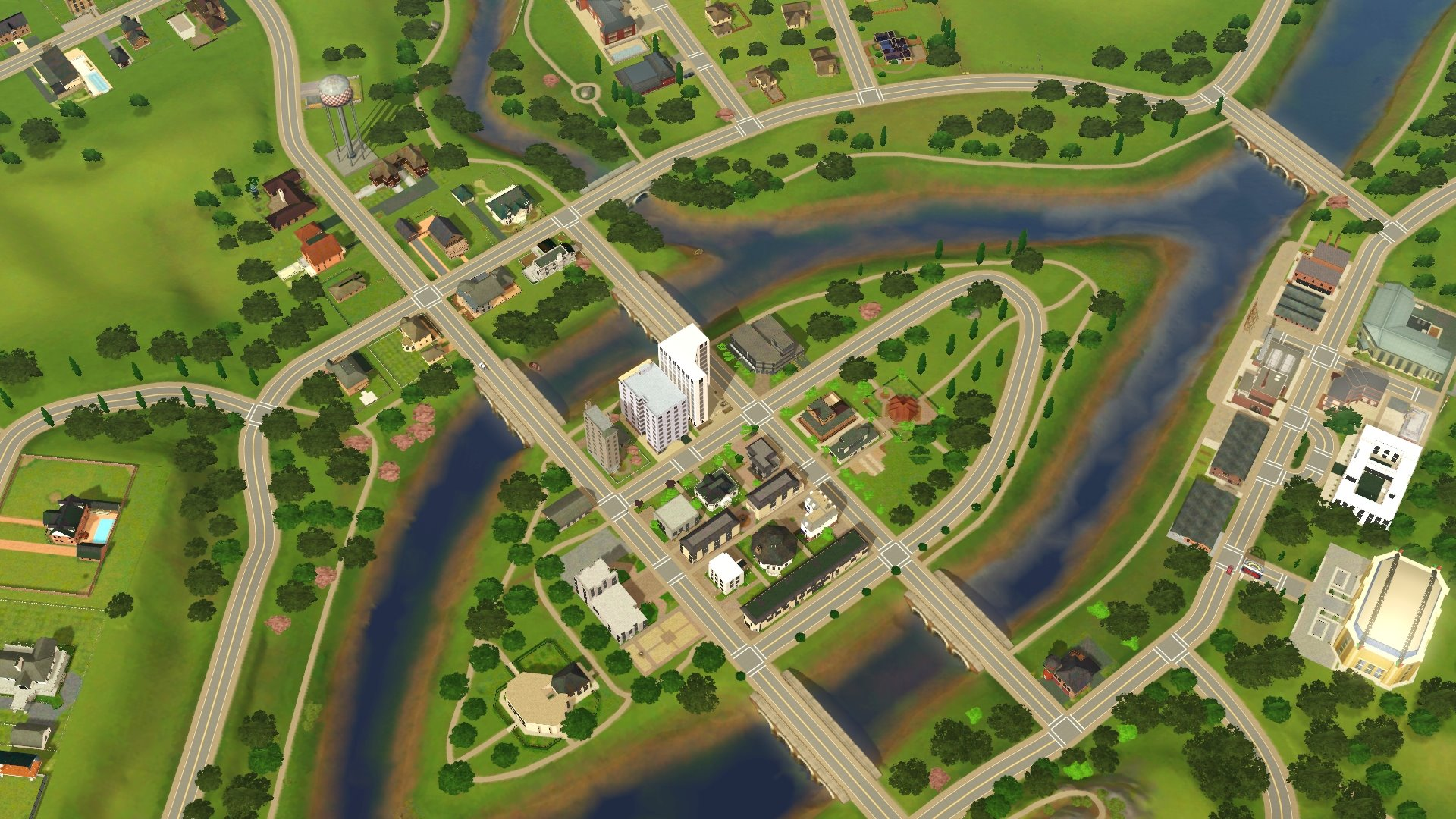 Riverview Transformation (FINISHED     - Mod The Sims
