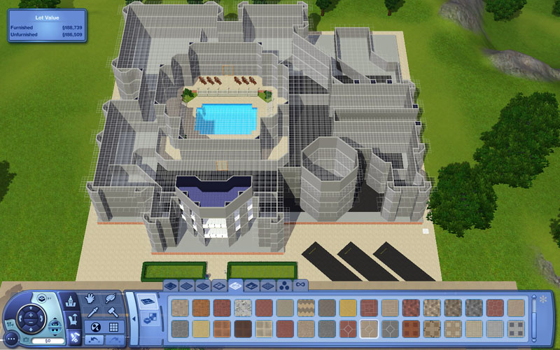 Mod the sims house in edit town mode looks blank Create your house game