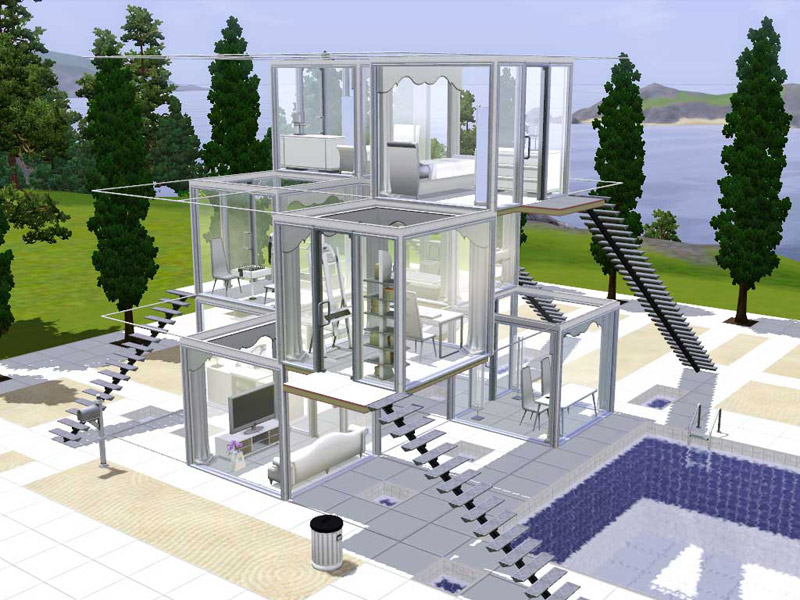Stunning Sims 3 House Designs Home Contemporary   Interior Design. Stunning Sims 3 House Designs Home Contemporary   Interior Design