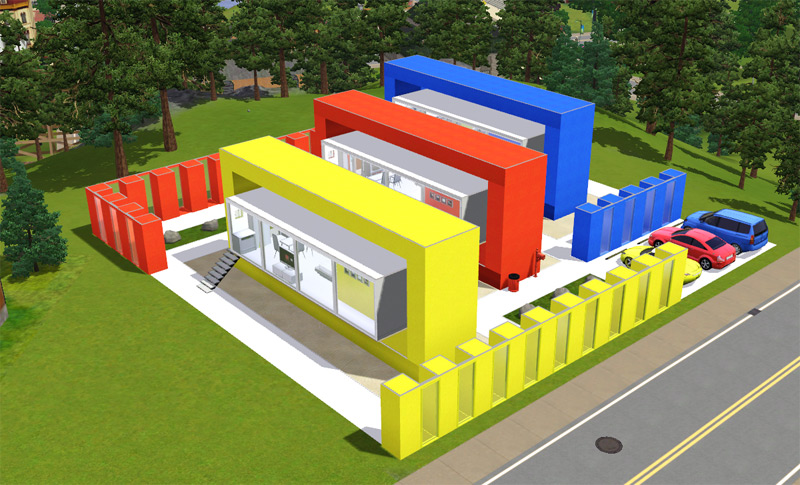 Mod the sims bang colour your neighbourhood for Best house designs for the sims 3