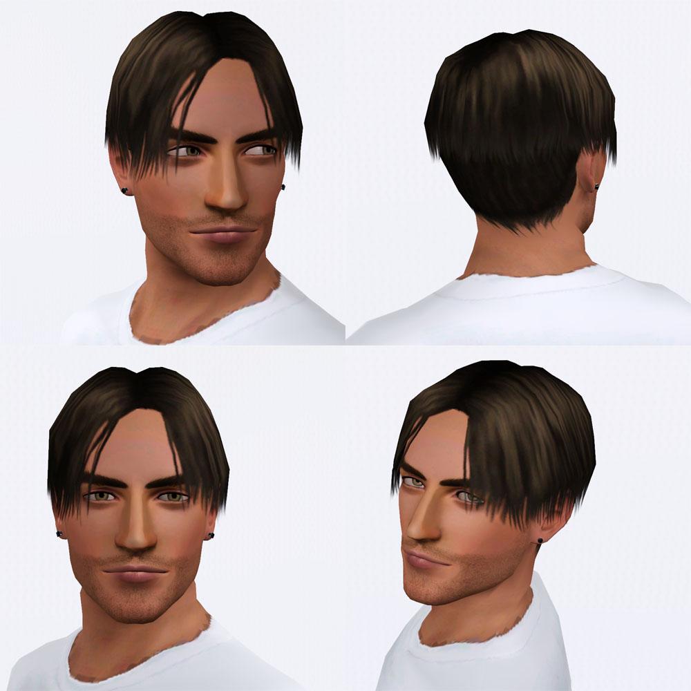 Мужские причёски симс 3