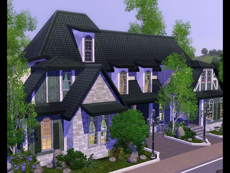 Voqa mais imagens das casas mais bonitas do the sims 3 - Casas bonitas sims 3 ...
