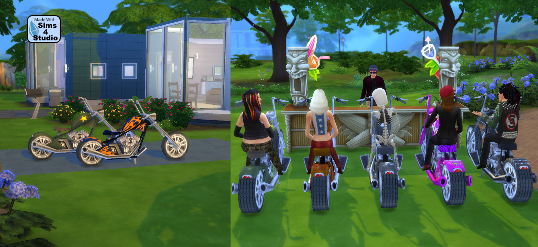 Mod The Sims Sittable Motorcycle Ts3 Conversion