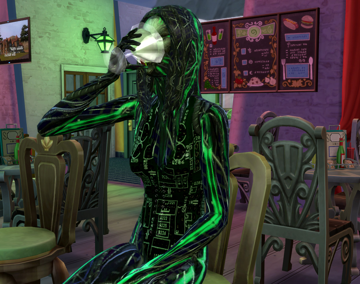Mod The Sims - SHODAN from System Shock