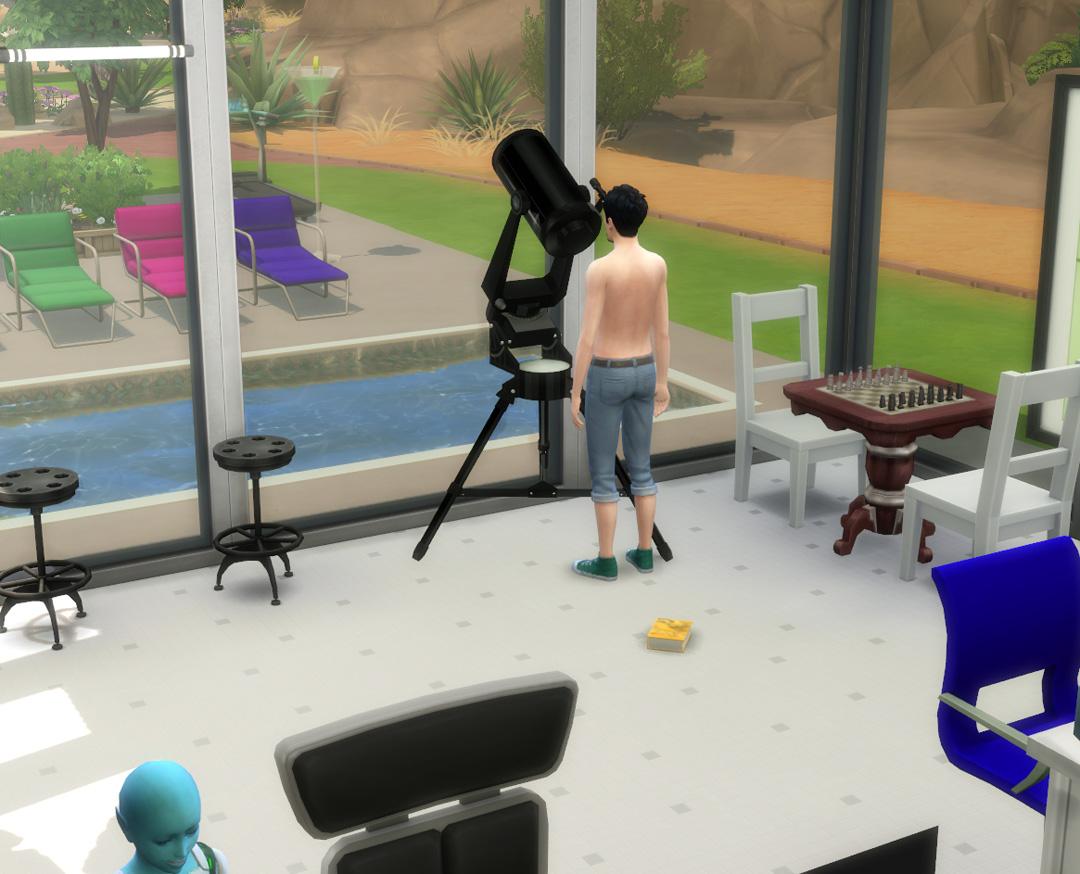 Mod The Sims - Telescope as Observatory Alternative