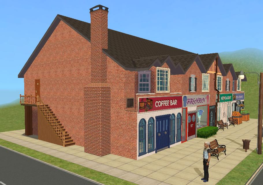 Mod The Sims British Style High Street