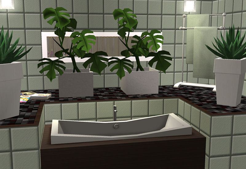 Mid century modern plants images for Modern house plants