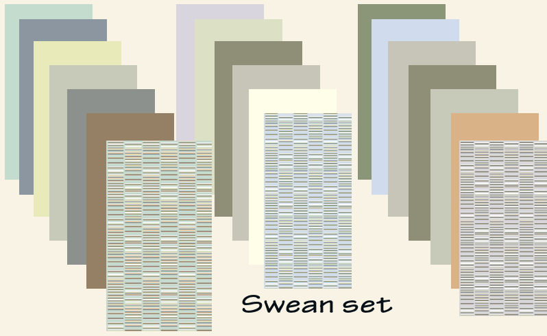 Mod the sims swean set of 17 wallpapers for Wallpaper for walls rates