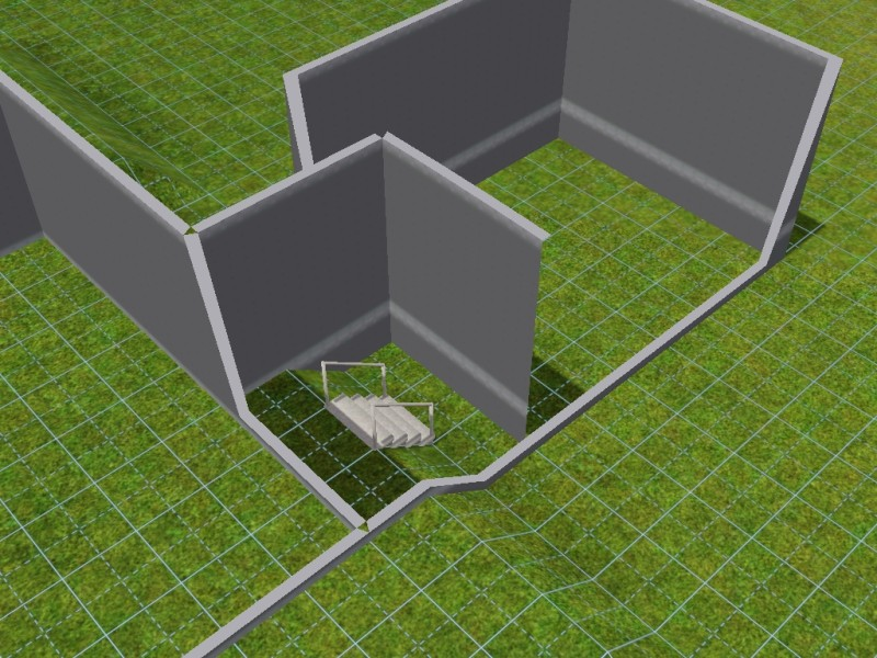 Sims 2 Constrain Floor Elevation Tutorial : Mod the sims tutorial how to attach a garage home