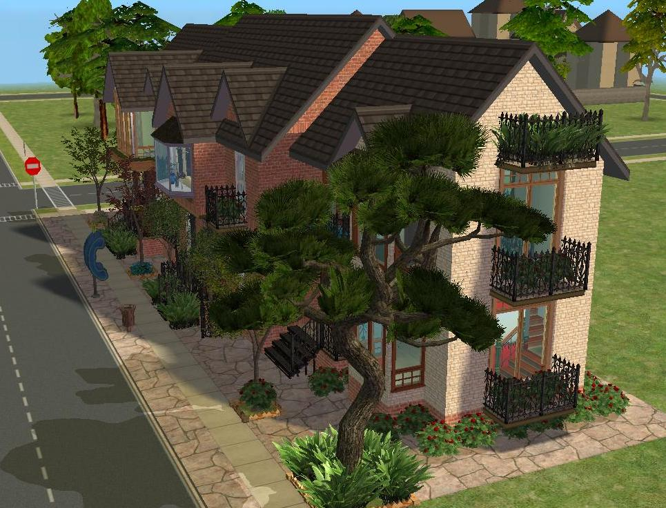 Mod The Sims Terrace Rowhouses A Collection Of