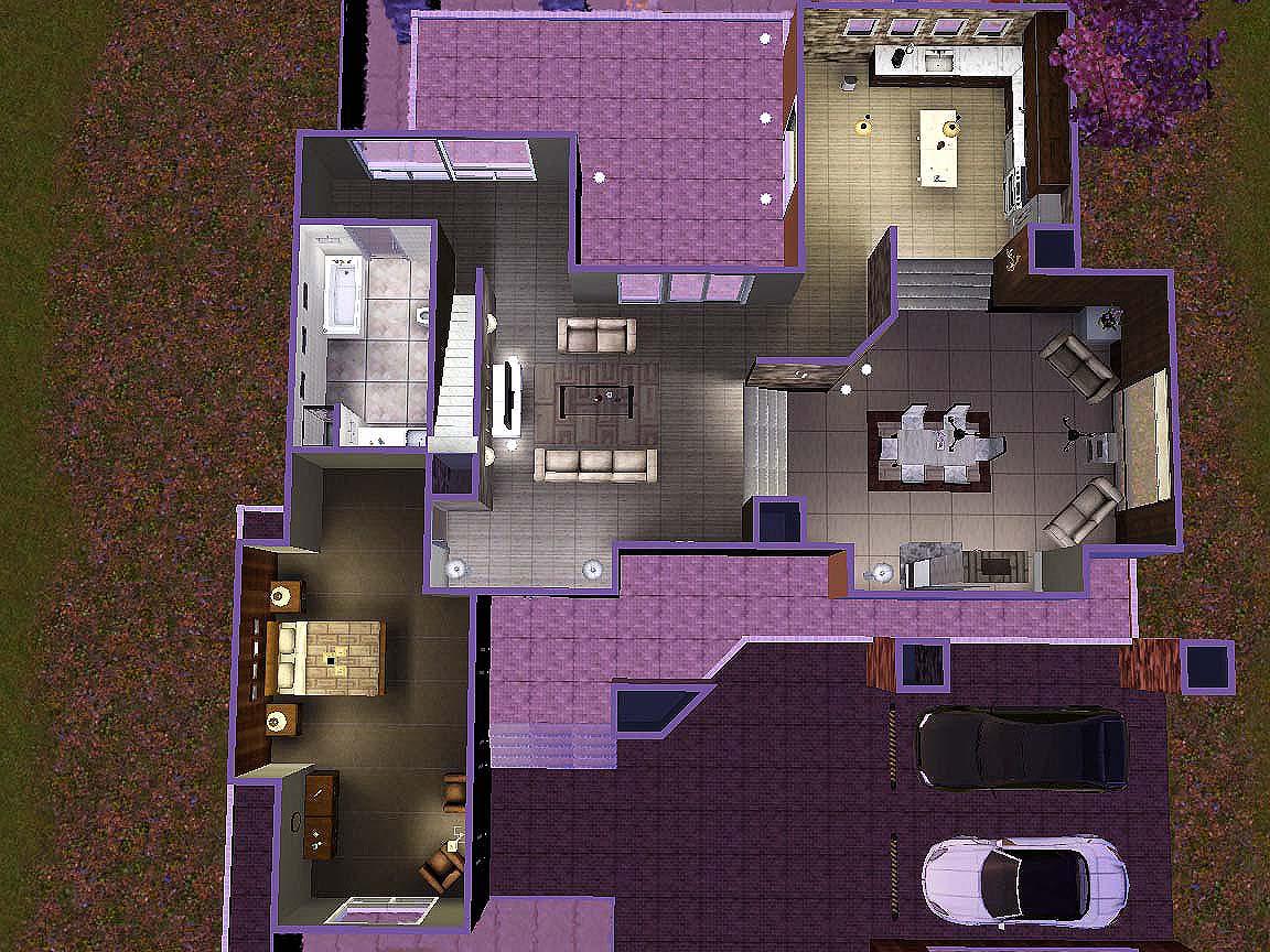 Mod The Sims Destiny A Modern Home By Rosalie Q