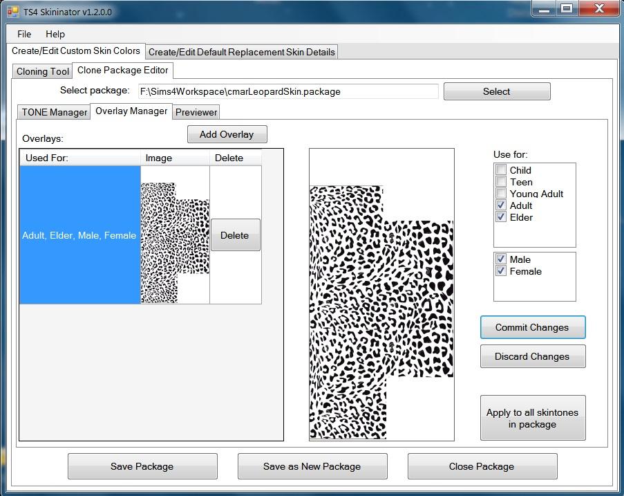 Mod The Sims - Creating a custom skintone with TS4 Skininator