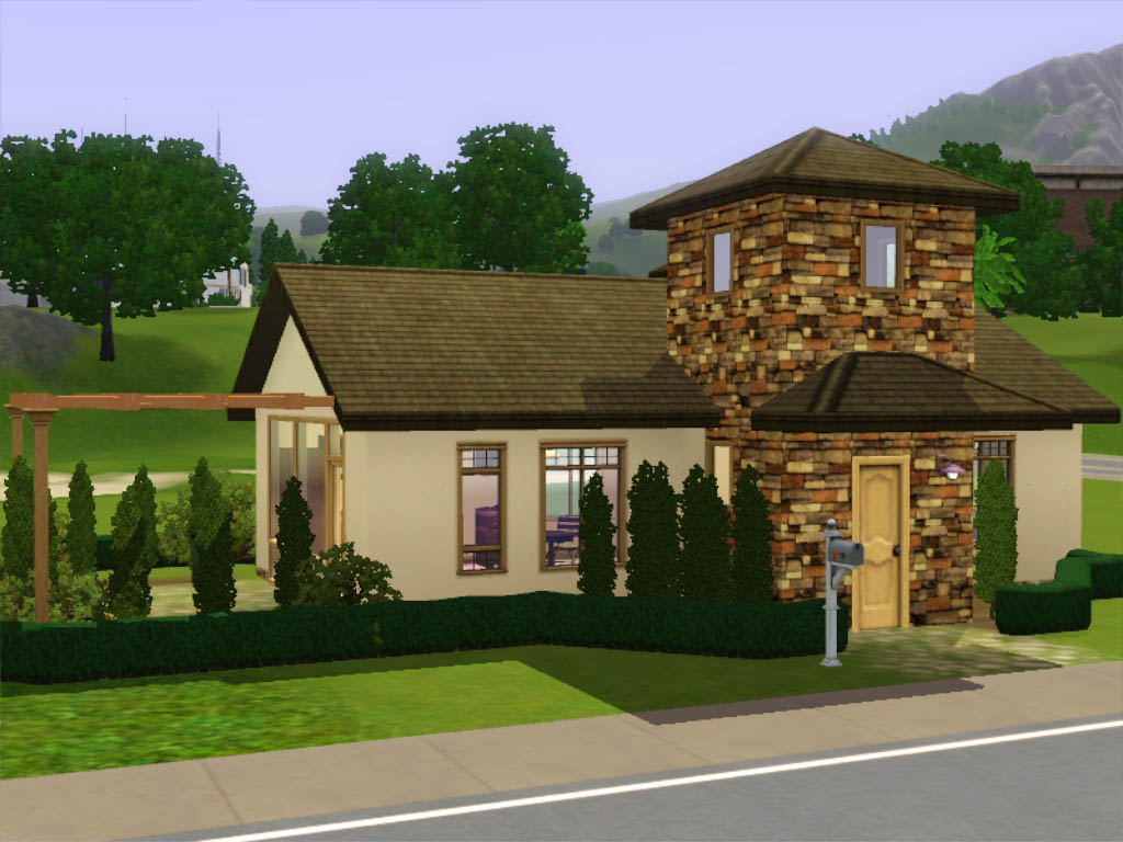 Mod The Sims Small Starter Cottage Italian Style