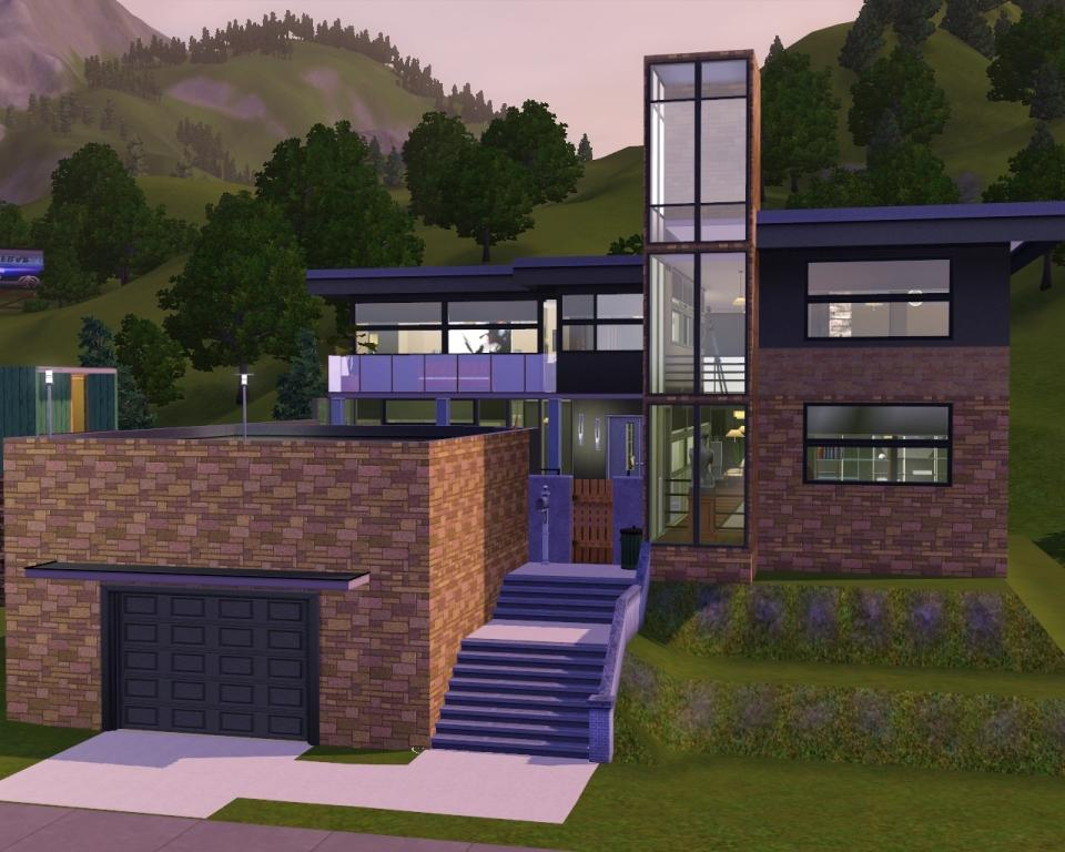 Mod the sims sandstone perch for Minimalist house sims 3