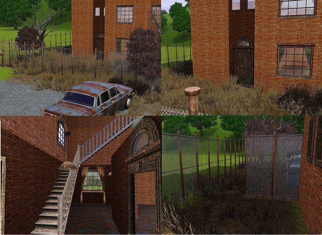 Mod The Sims Abandoned Warehouse
