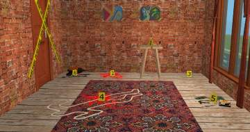 Mod The Sims Crime Scene Evidence Markers