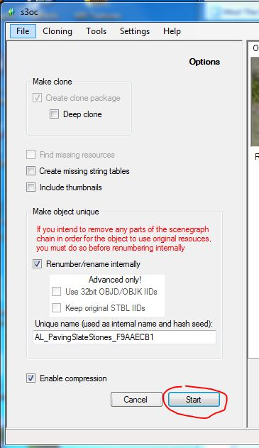 how to open a package file in sims 3