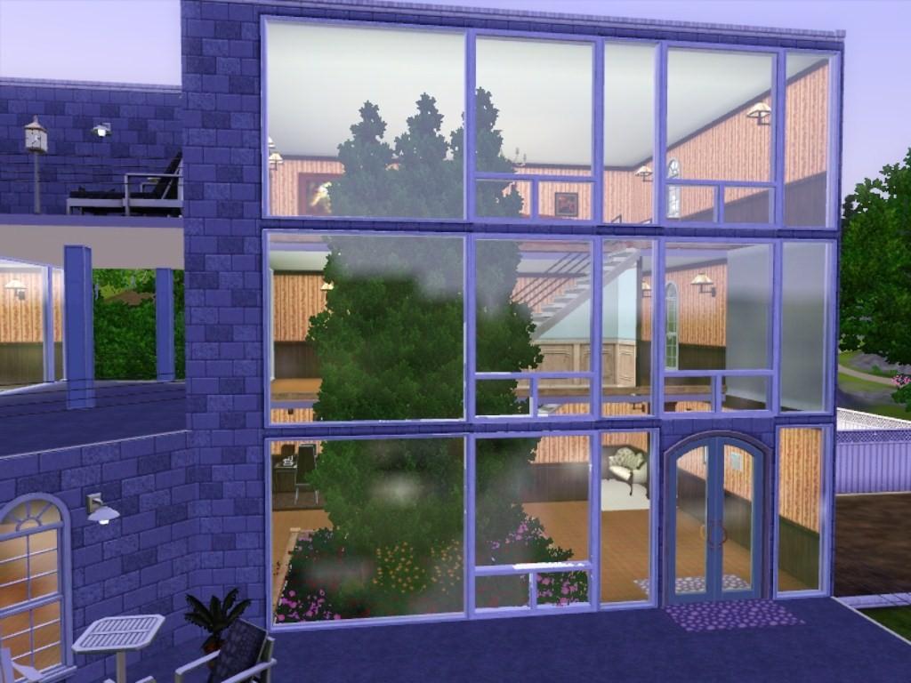 Mod the sims modern outside elegant inside for Indoor gardening sims 4