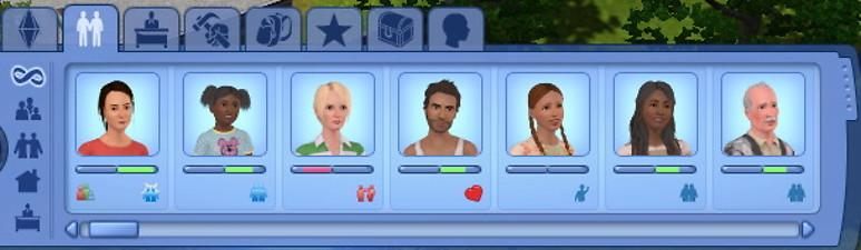 Sims 2 celebrity style icons