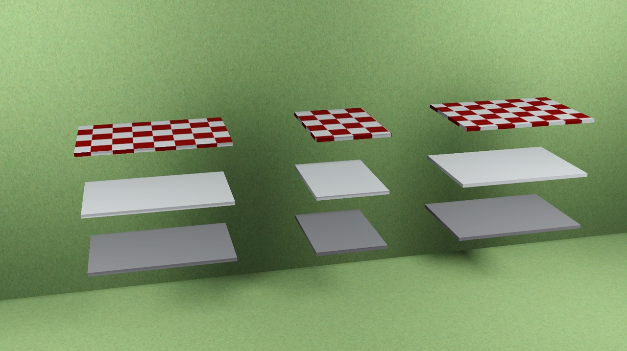 how to make half counters in sims 4