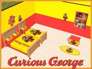 Curious George Kid Room Decor
