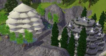mod the sims downloads lots housing tombs. Black Bedroom Furniture Sets. Home Design Ideas