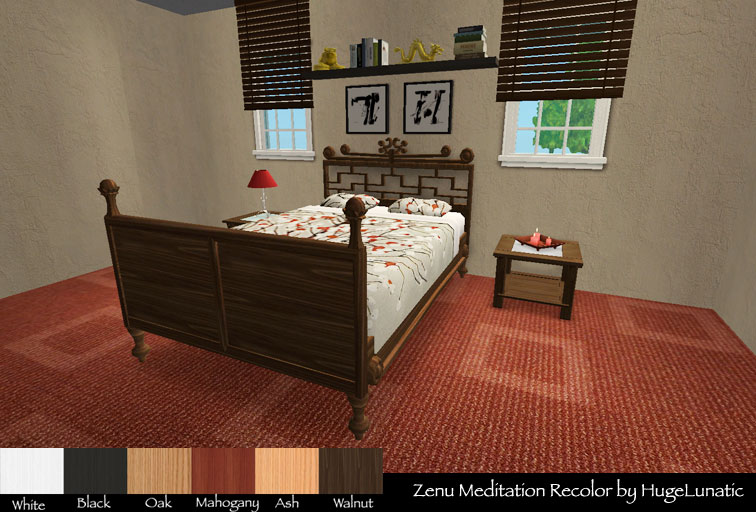 Mod The Sims Base Game Maxis Match Bed Recolors