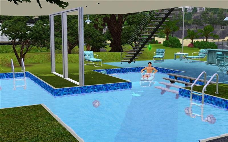 Mod the sims tutorial how to make pools of different depths for Pool design sims 3