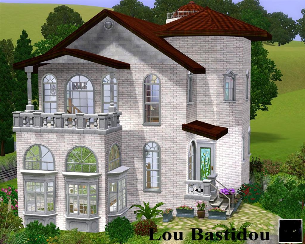 Cheats On Home Design Story Mod The Sims Lou Bastidou Small Mditerranean Mansion