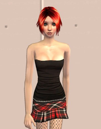 This here is Resika Rogue, my Teen Model for the Teen Top Model contest at ...