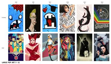 Mod The Sims Pop Art Paintings Replaced