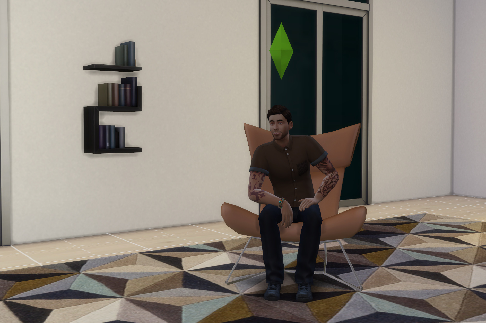 mod the sims boconcept imola chair. Black Bedroom Furniture Sets. Home Design Ideas