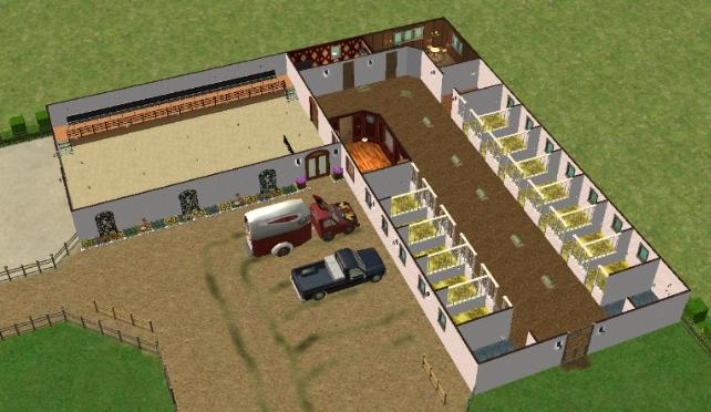 Mod The Sims - Saddle Brooke Farm - UPDATED 7-15-08