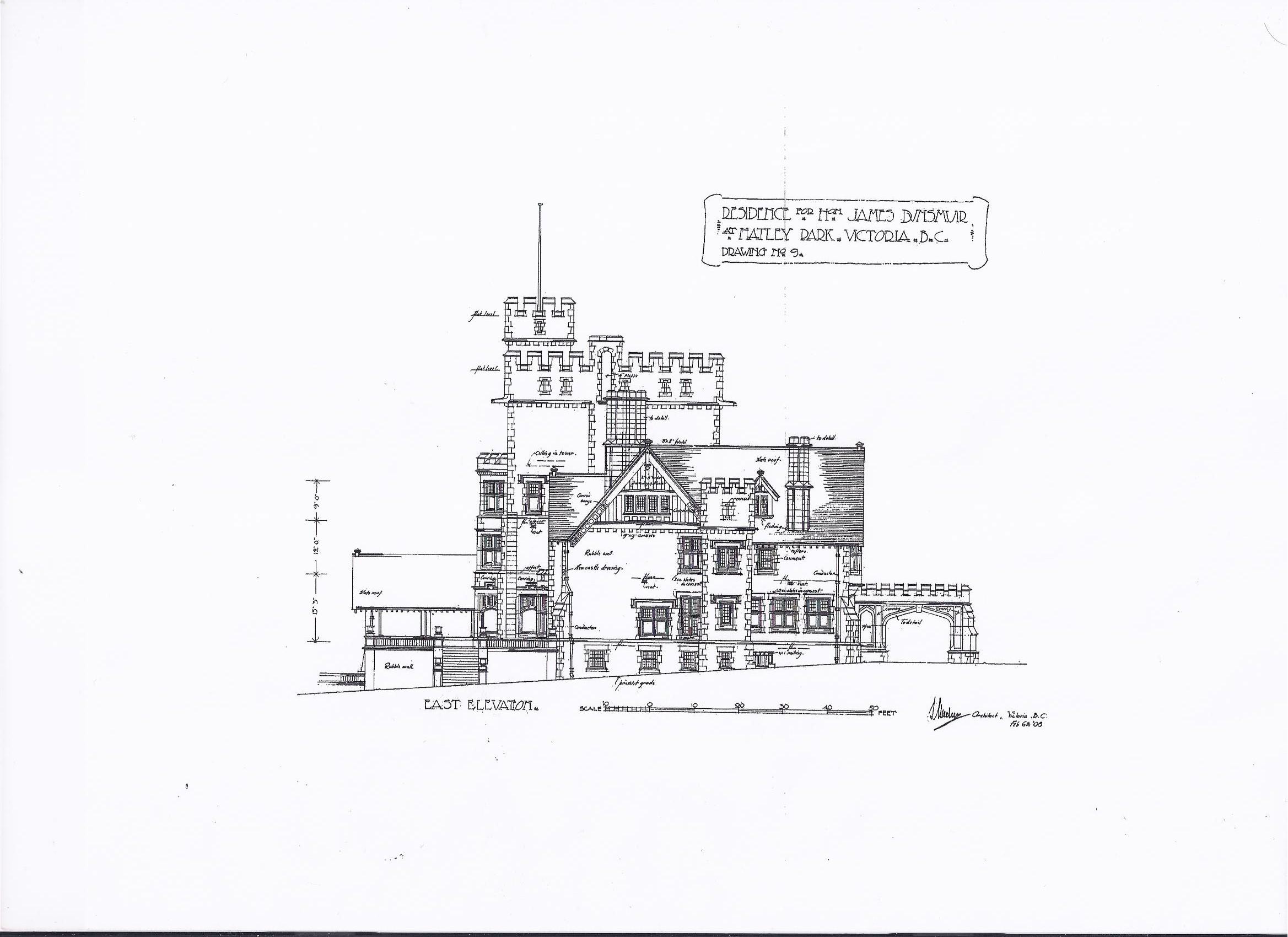 hatley castle floor plan
